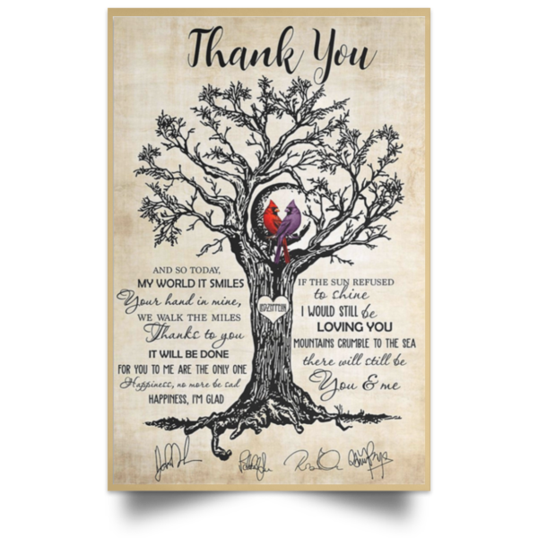 redirect 662 600x600 - Thank You Vertical poster