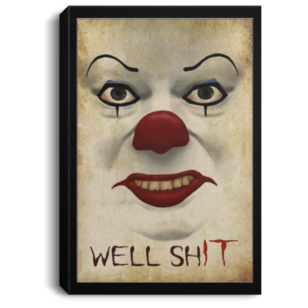redirect 665 600x600 - Pennywise well shit poster