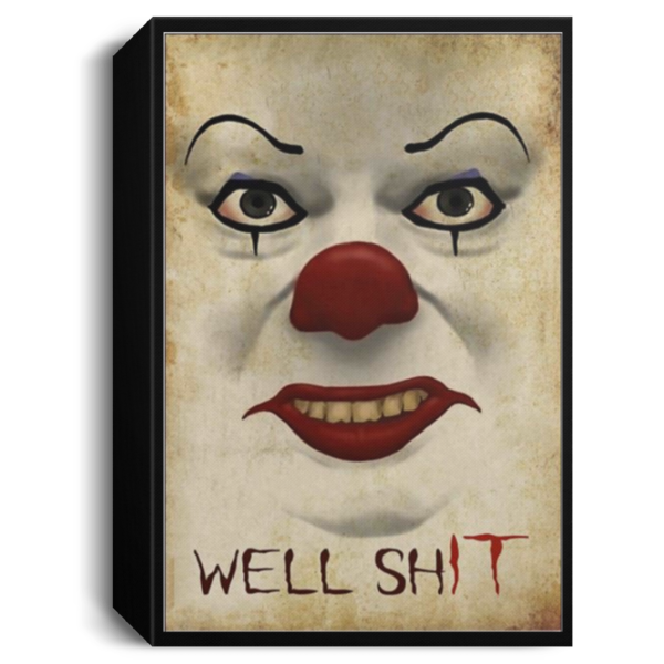redirect 669 600x600 - Pennywise well shit poster