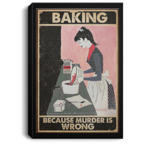 redirect 67 300x300 - Baking because murder is wrong poster