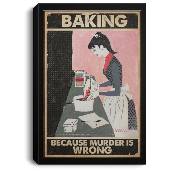 redirect 67 600x600 - Baking because murder is wrong poster