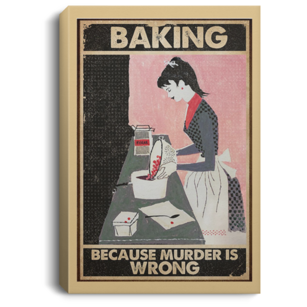 redirect 68 600x600 - Baking because murder is wrong poster