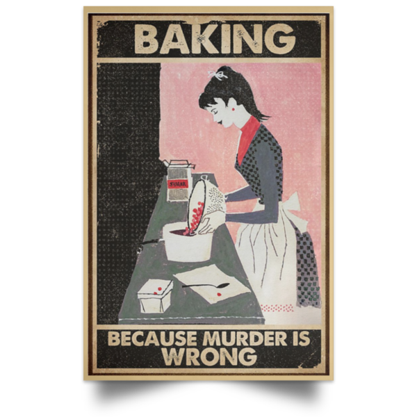 redirect 70 600x600 - Baking because murder is wrong poster