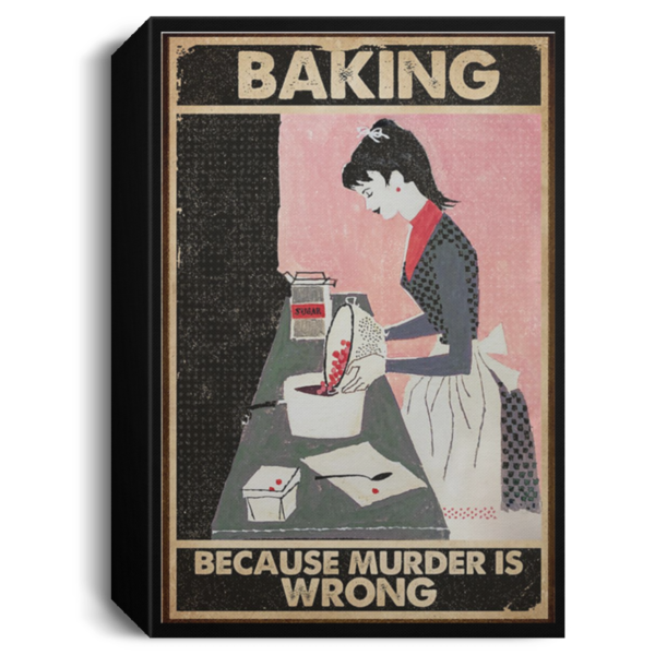 redirect 71 600x600 - Baking because murder is wrong poster