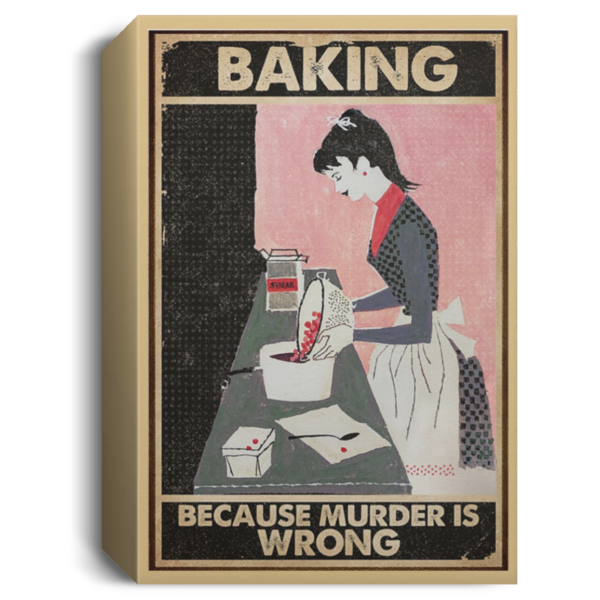 redirect 72 600x600 - Baking because murder is wrong poster