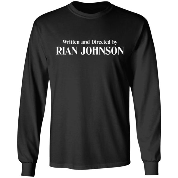 redirect 945 600x600 - Written and directed by Rian Johnson shirt