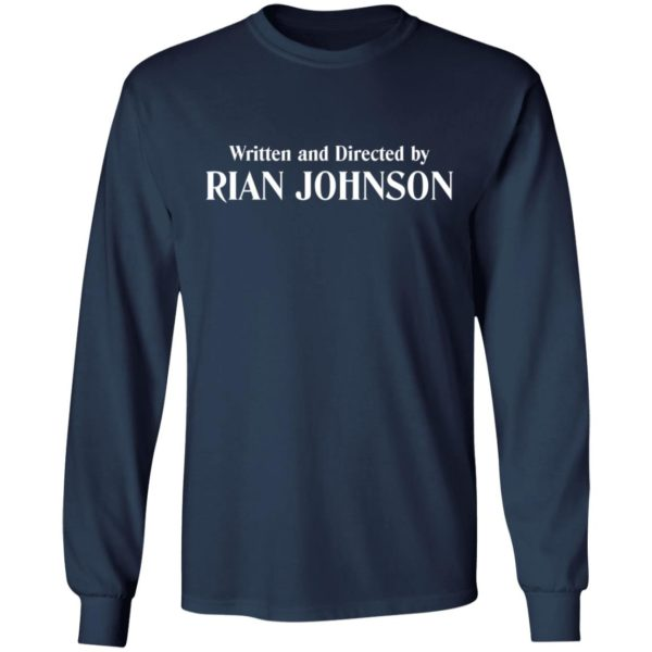 redirect 946 600x600 - Written and directed by Rian Johnson shirt