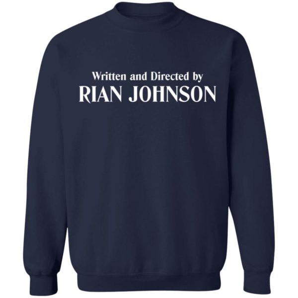 redirect 950 600x600 - Written and directed by Rian Johnson shirt