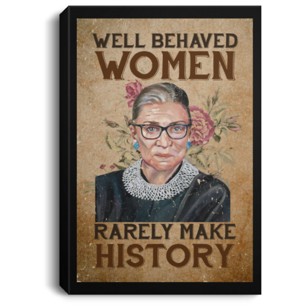 redirect 101 600x600 - RBG well behaved women rarely make history poster