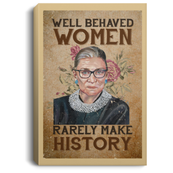 redirect 102 600x600 - RBG well behaved women rarely make history poster