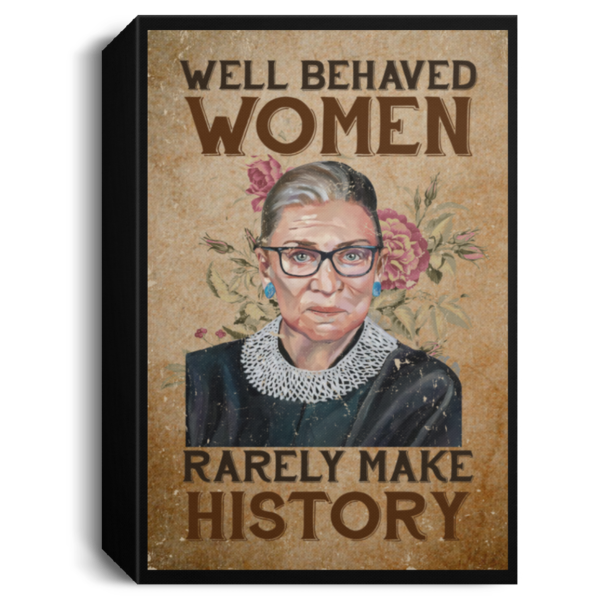 redirect 105 600x600 - RBG well behaved women rarely make history poster