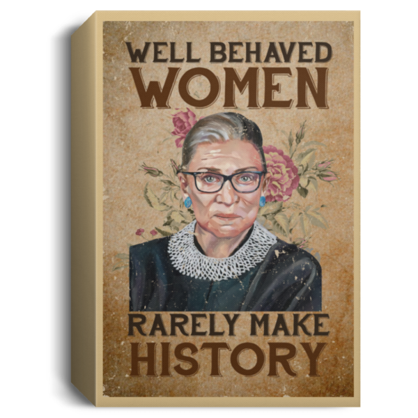 redirect 106 600x600 - RBG well behaved women rarely make history poster