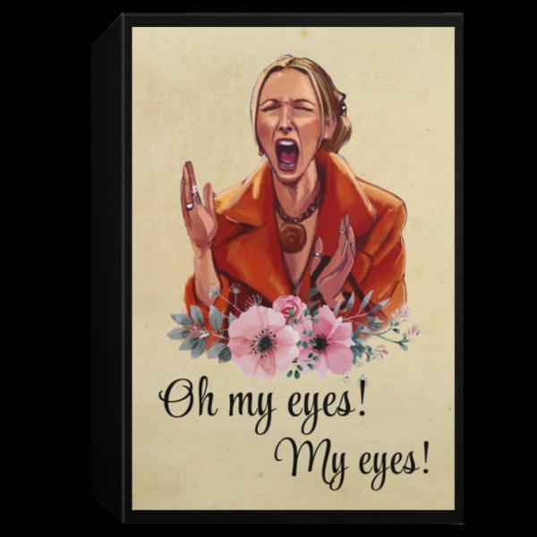 redirect 111 600x600 - Phoebe Buffay Oh my eyes my eyes poster
