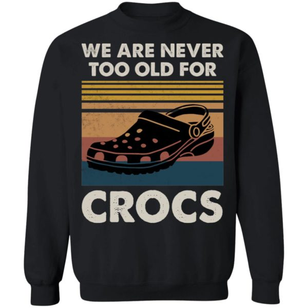redirect 1188 600x600 - We are never too old for crocs vintage shirt