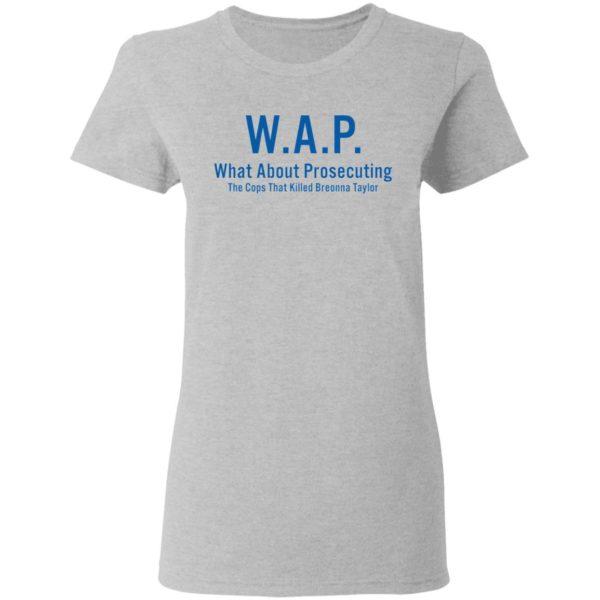 redirect 163 600x600 - WAP what about prosecuting shirt
