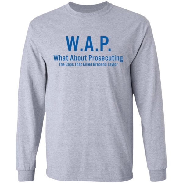 redirect 164 600x600 - WAP what about prosecuting shirt