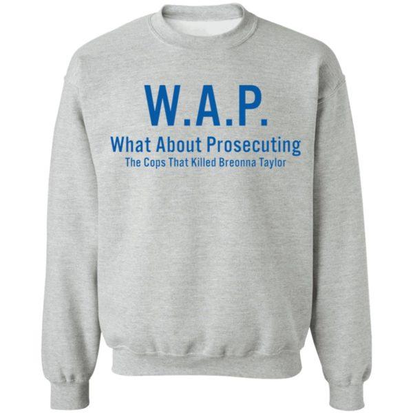 redirect 168 600x600 - WAP what about prosecuting shirt