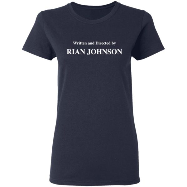 redirect 1683 600x600 - Written and directed by Rian Johnson shirt