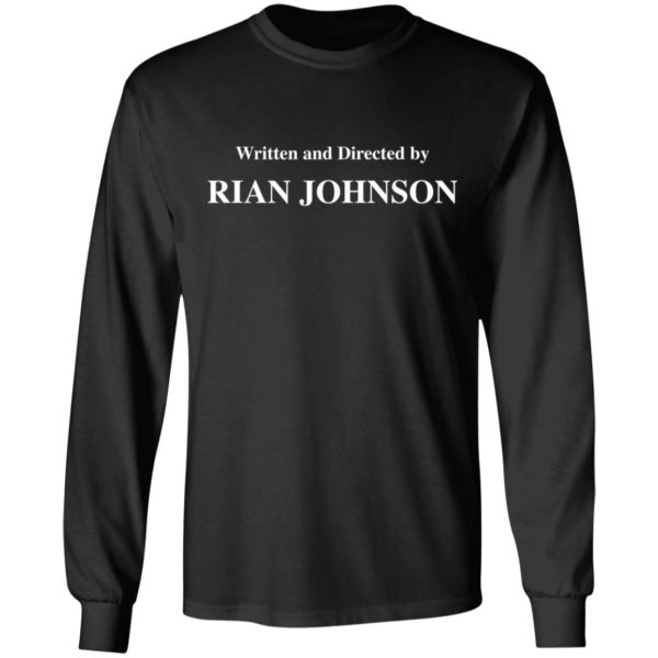 redirect 1684 600x600 - Written and directed by Rian Johnson shirt