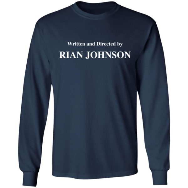 redirect 1685 600x600 - Written and directed by Rian Johnson shirt