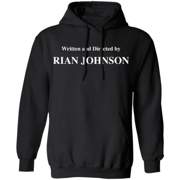redirect 1686 600x600 - Written and directed by Rian Johnson shirt