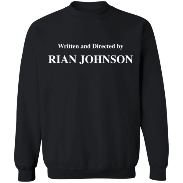 redirect 1688 600x600 - Written and directed by Rian Johnson shirt