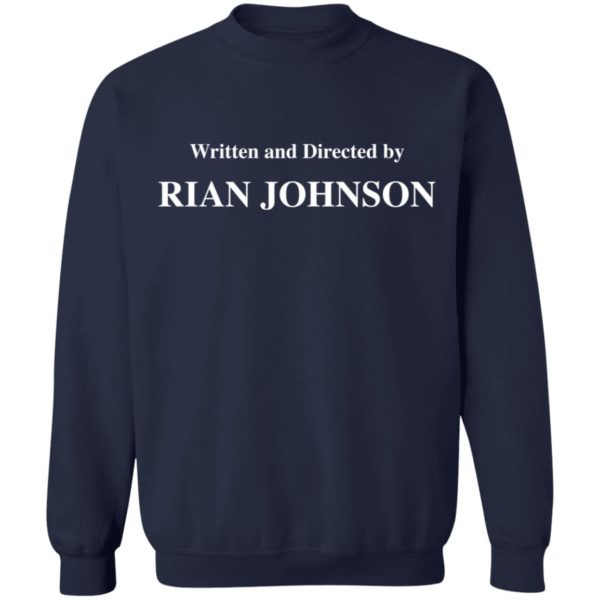 redirect 1689 600x600 - Written and directed by Rian Johnson shirt