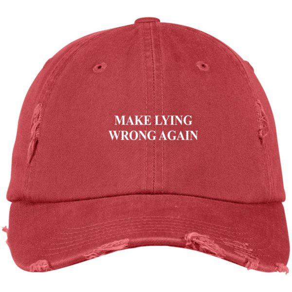 redirect 2325 600x600 - Make Lying wrong again hat, cap