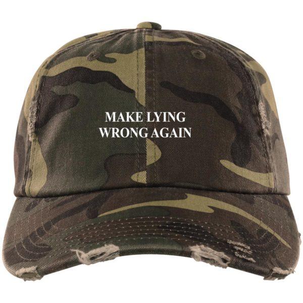 redirect 2326 600x600 - Make Lying wrong again hat, cap