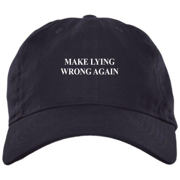 redirect 2328 600x600 - Make Lying wrong again hat, cap