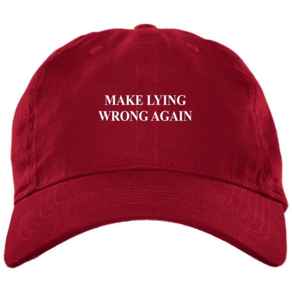 redirect 2329 600x600 - Make Lying wrong again hat, cap