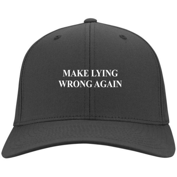 redirect 2331 600x600 - Make Lying wrong again hat, cap