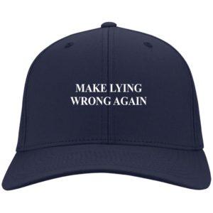 redirect 2332 300x300 - Make Lying wrong again hat, cap