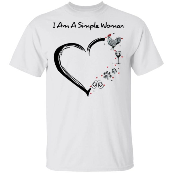 redirect 2895 600x600 - I am a simple woman I like chicken wine dog and flip flop shirt