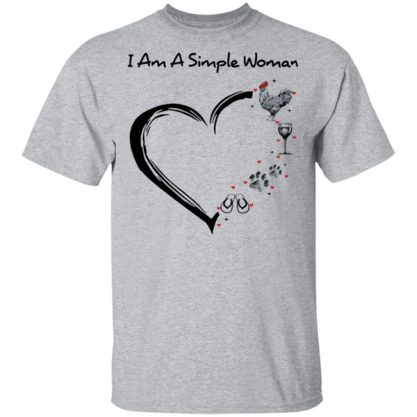 redirect 2896 600x600 - I am a simple woman I like chicken wine dog and flip flop shirt
