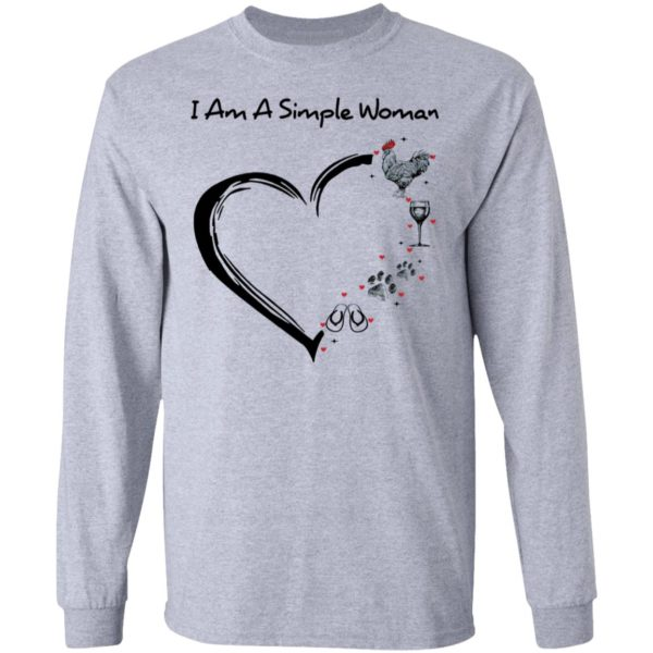 redirect 2899 600x600 - I am a simple woman I like chicken wine dog and flip flop shirt