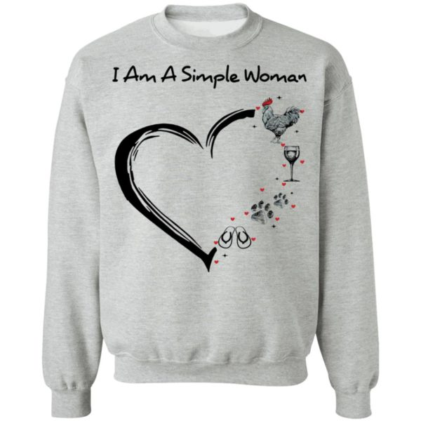 redirect 2903 600x600 - I am a simple woman I like chicken wine dog and flip flop shirt
