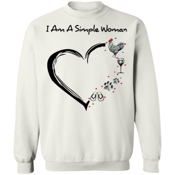 redirect 2904 600x600 - I am a simple woman I like chicken wine dog and flip flop shirt
