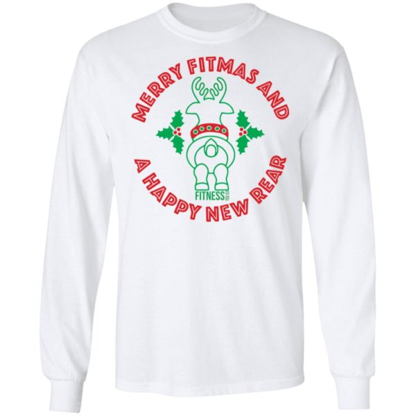 redirect 2949 600x600 - Merry fitmas and a happy new rear Christmas sweatshirt