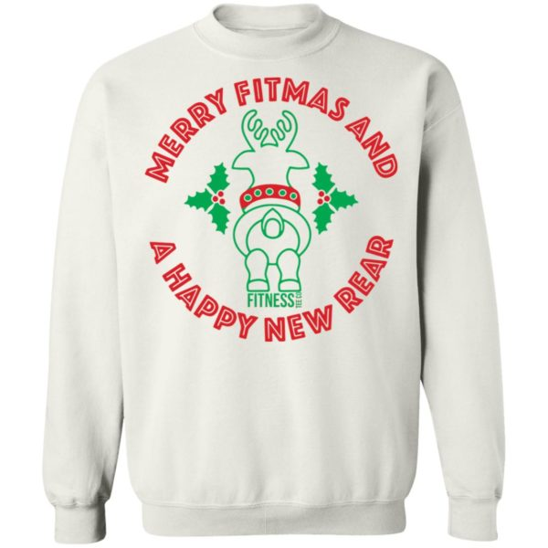 redirect 2953 600x600 - Merry fitmas and a happy new rear Christmas sweatshirt