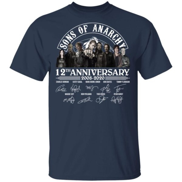 redirect 2966 600x600 - Sons of Anarchy 12th anniversary 2008-2020 signature shirt