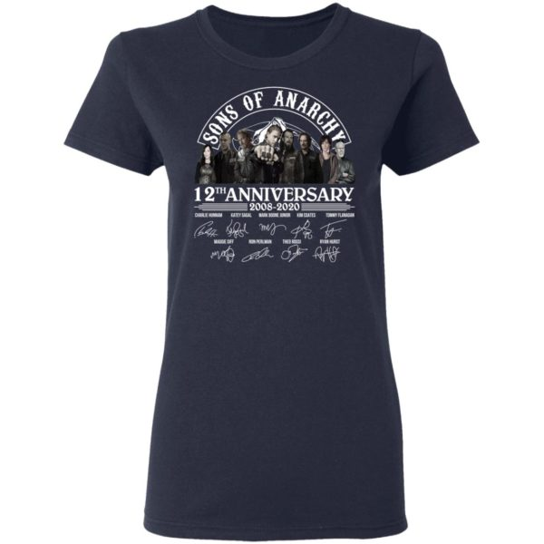 redirect 2968 600x600 - Sons of Anarchy 12th anniversary 2008-2020 signature shirt