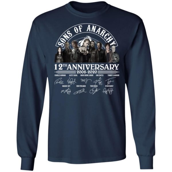 redirect 2970 600x600 - Sons of Anarchy 12th anniversary 2008-2020 signature shirt