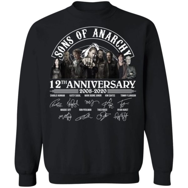 redirect 2973 600x600 - Sons of Anarchy 12th anniversary 2008-2020 signature shirt