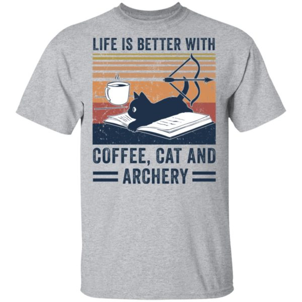 redirect 2976 600x600 - Black cat life is better with coffee cat and archery vintage shirt