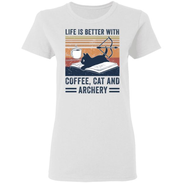 redirect 2977 600x600 - Black cat life is better with coffee cat and archery vintage shirt