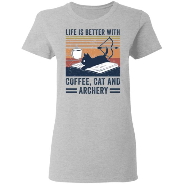 redirect 2978 600x600 - Black cat life is better with coffee cat and archery vintage shirt