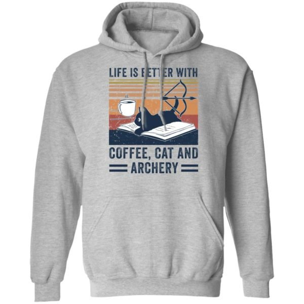 redirect 2981 600x600 - Black cat life is better with coffee cat and archery vintage shirt