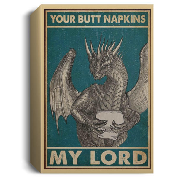 redirect 36 600x600 - Dragon your butt napkins my lord poster