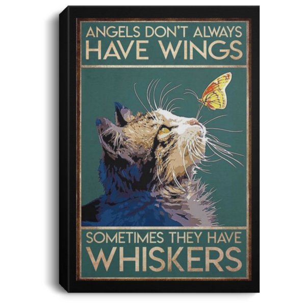 redirect 44 600x600 - Cat angels don't always have wings sometimes they have whiskers poster